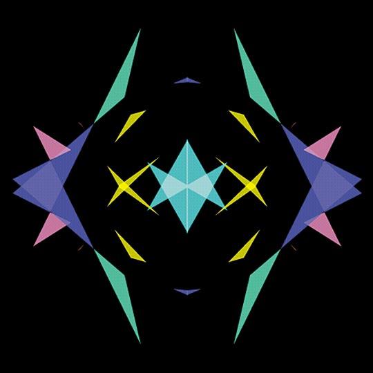 screenshot from a multimedia kaleidoscope, 1999