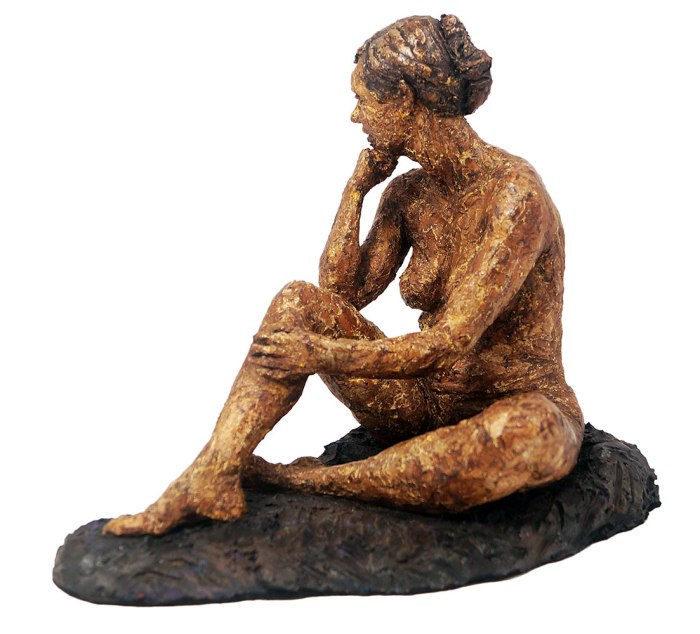 figure of Letizia sitting