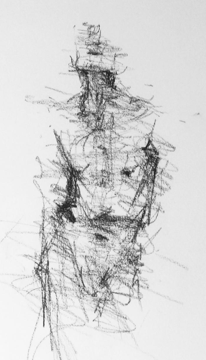 Standing Man Life Sketch